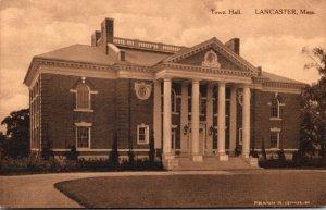 Massachusetts Lancaster Town Hall