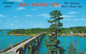 Arkansas Hot Springs Greetings From Lake Hamilton