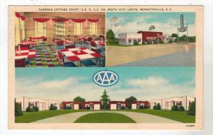 2280  SC Bennettsville    FARRON´s COTTAGE COURT Motel, Restaurant