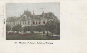 WINNIPEG, Manitoba, Canada, PU-1904; Manitoba Parliament Buildings