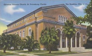 Florida St Petersburg Christian Science Church The Sunshine City