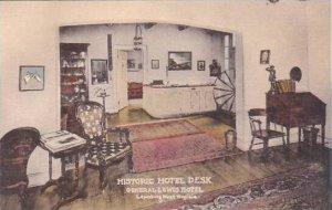 West Virginia Lewisburg Historic Hotel Desk General Lewis Hotel