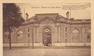 Belgium Tervuren Musee de Congo Entree par la Chaussee de Louvain
