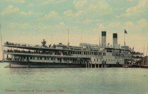 PORT LAMPTON , Ontario, Canada, 1900-10s ; Steamer Tashmoo
