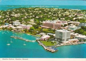 Bermuda Hamilton Aerial View Hamilton Harbour