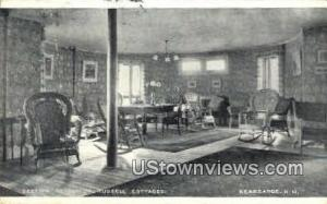 Parlor, Russell Cottages Kearsarge NH 1921