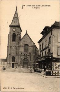 CPA ISSY les MOULINEAUX L'Eglise (413676)