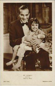 CPA Al Jolson and his 'Sonny Boy' FILM STAR (1071336)