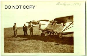 RPPC, Balcic Acrodrome obombric 1932