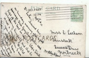 Genealogy Postcard - Latham - Queens Drive - Norbreck - Nr Blackpool - Ref 8911A