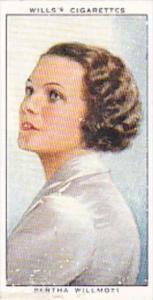 Wills Cigarette Card Radio Celebrities No 20 Bertha Willmott