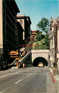 CA, Los Angeles, California, Angels Flight Third and Hill Streets