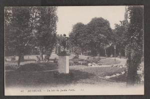 View In The Public Gardens, Bethune France - Unused