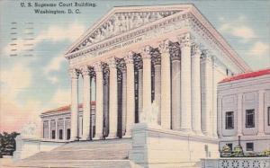 U S Supreme Court Building Washington D C 1944