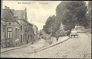germany, BAD BENTHEIM, Bismarckplatz, Horse Cart (1908)