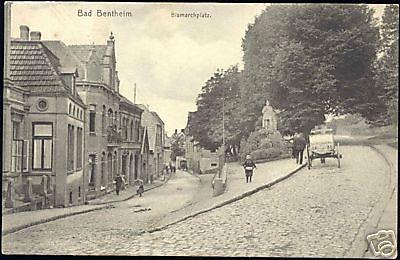 germany, BAD BENTHEIM, Bismarckplatz, Horse Cart (1908)