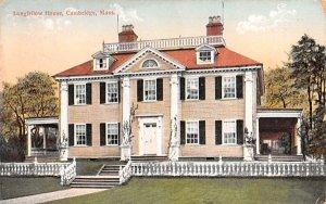 Longfellow House Cambridge, Massachusetts Postcard