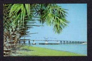 SC Bridge to HILTON HEAD SOUTH CAROLINA Postcard PC