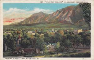 Flagstaff and Bear Mountains, Boulder, Colorado, 1930-40s