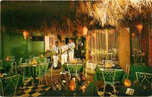 The Coconut Bar House Of Palms (Polynesian?) Restaurant, Virgin Islands Postcard