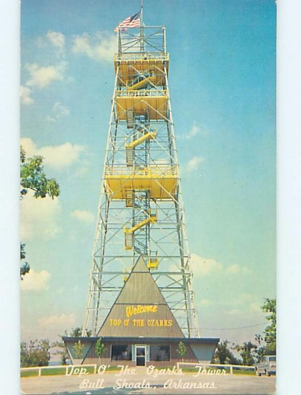 Pre-1980 OZARKS TOWER Bull Shoals Arkansas AR hn4819