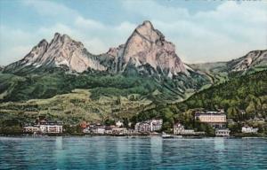 Switzerland Brunnen und die Mythen Photo