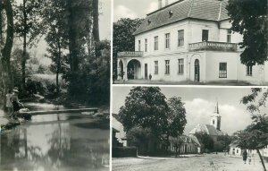 Postcard Hungary Udvozlet Vamosmikolarol