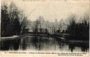 CPA Notre-Dame de Liesse Chateau de MARCHAIS Bati au XVI... (202403)