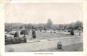 England Eaton Hall, The Gardens 1903