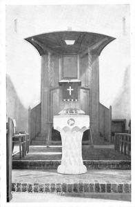 Netherlands Kansel en Doopvont Oude Ned Herv Kerk Oosterbeek