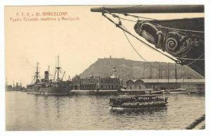Barcelona, Spain, 00-10s   Puerto Estacion maritime y Montjuich