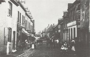 Reproduction c1910 Postcard, High Street, Crayford, Bexley, London 89T