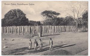 Sri Lanka / Ceylon; Brazen Palace, Anuradhapura PPC By Plate, Unposted, c 1930's