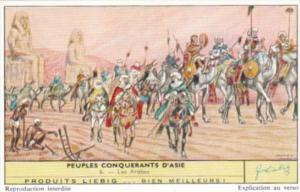 Liebig S1734 Conquering Nations Of Asia No 6 Les Arabes