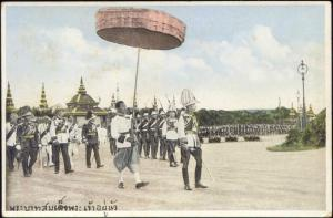 siam thailand, King Rama VII Prajadhipok in Uniform (1925)