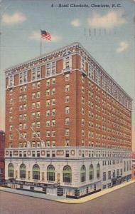 Hotel Charlotte North Carolina 1952
