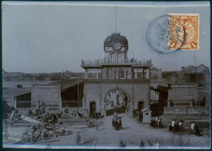 Germany 1913 China TIENTSIN Gate Original Photograph Stamped As Postcard 91361