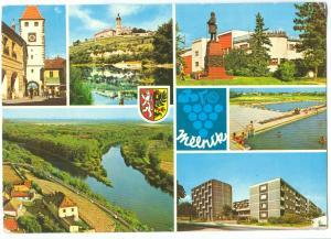 Czech Republic, MELNIK, 1984 used Postcard