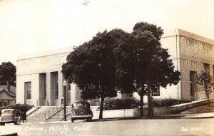 RPPC Post Office, Vallejo, California Zan Photo ca 1940s Vintage Postcard