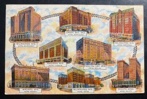 Mint Usa Picture Postcard PPC Schroeder Hotel Fireproof Wisconsin
