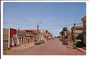 Main Street, Alberton, Prince Edward Island, Canada, Silver Fox Industry
