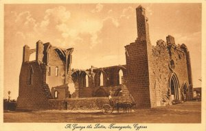 Cyprus Famagusta St George the Latin postcard