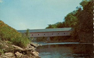 ME - Bangor. Morse Covered Bridge