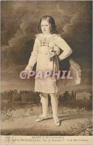 Postcard Old Duke of Reichstadt Son of Napoleon 1st and Marie Louise Krafft (...
