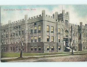 Divided-Back HIGH SCHOOL North Yakima Washington WA k0605