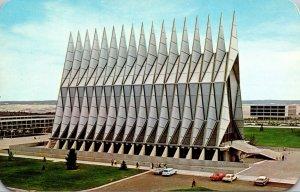 Colorado Colorado Springs The Cadet Chapel U S Air Force Academy