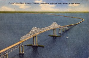 [ Linen ] US Florida St. Petersburg - Sunshine Skyway (1)