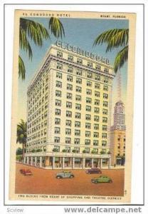 El Comodoro Hotel, Miami, Florida, 1945