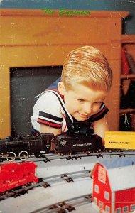 Toys/Dolls Post Card The Engineer Unused