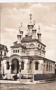 Switzerland Geneve Eglise Russe 1955 Photo